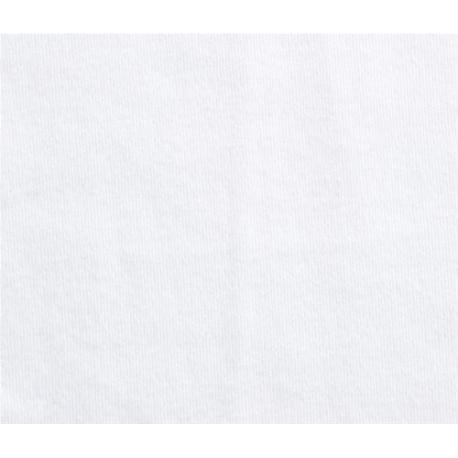 Tela/basica/algodon/ecologico/elastico/jersey/blanco