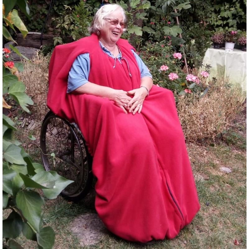 Funda-manta  para silla de ruedas