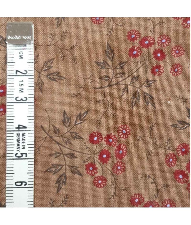 Tela Sevenberry Junko Matsuda 10121 Flores Marron