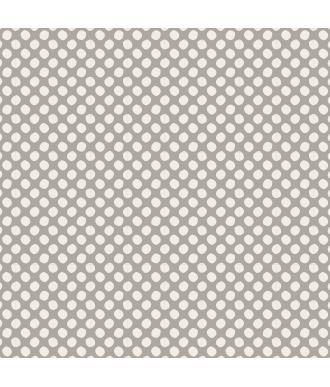 Tela Tilda Classic Paint Dots Grey Lunares Gris