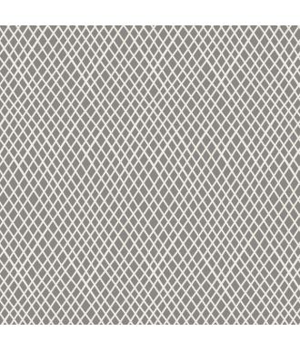Tela Tilda Classic Crisscross L.Grey Lineas Cruzadas Gris