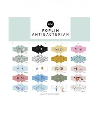 Panel Katia Popelin ilustrator  antibacteriano 20 mascarillas