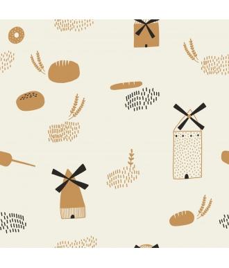 Tela Katia Popelin Bread Origins