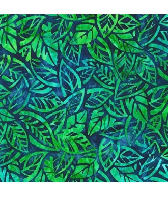 Tela Batik Robert Kaufman Summer Zest 19534 64 Azul