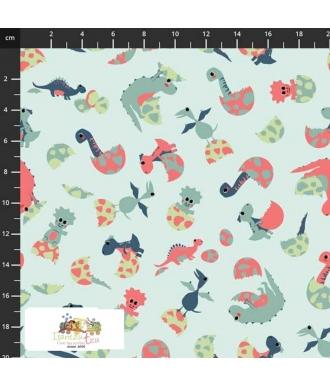 Tela Stof Fabrics Follow My Footprint 4501-585