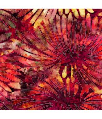 Tela QT Fabrics Tropicalia Large Floral Brick 28188-R