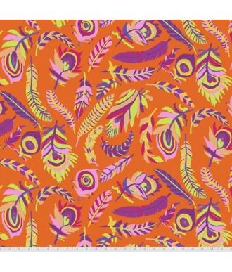 Tela Free Spirit Kaffe Fassett Collective Tickle My Fancy PWBM080 Orange
