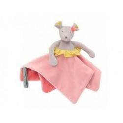 Doudou portachupete Conejo