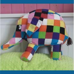 Elefante Elmer Patrón